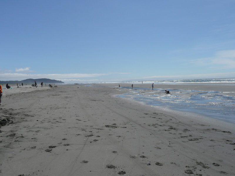 Пляж Лонг Бич в Вашингтоне