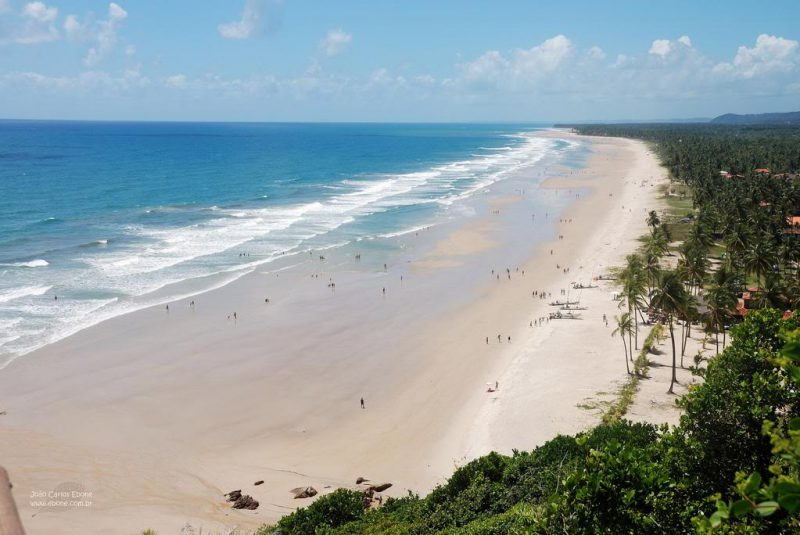 Бразильский пляж Прайя до Кассино