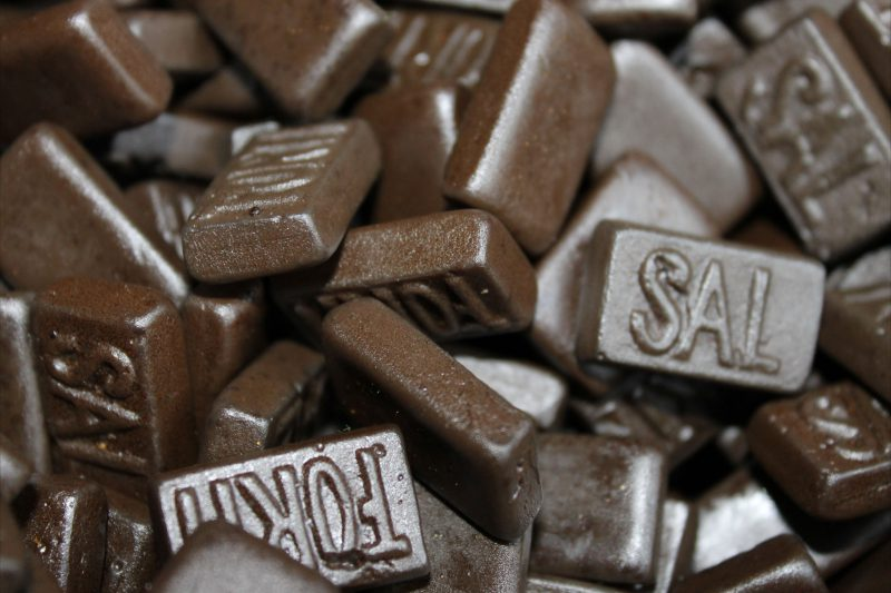 Соленые конфеты Dubbel Zout