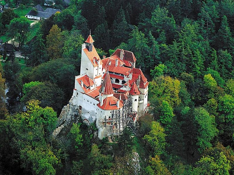 Вампирский бренд Трансильвании – крепость Дракулы