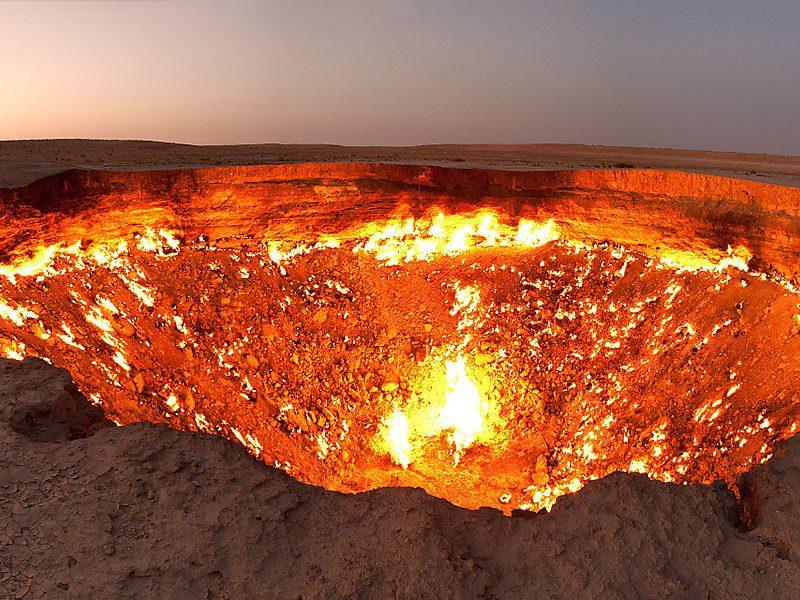 Врата ада – результат аварии, унесшей жизни людей