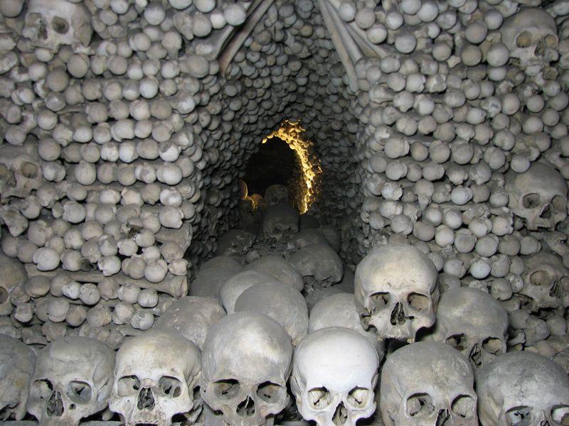 Знаменитая Костница в Чехии