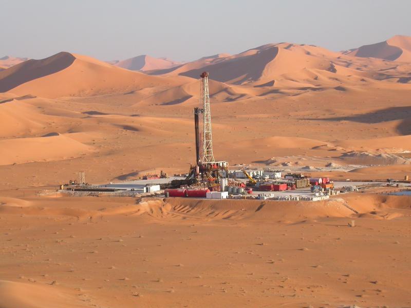 Месторождение нефти в Алжире