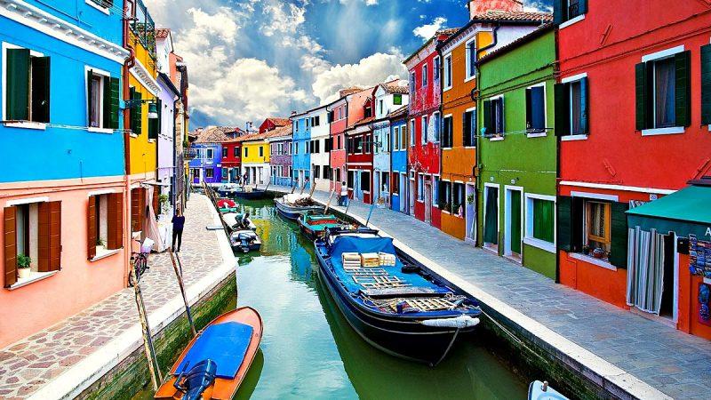 Венецианский квартал Бурано