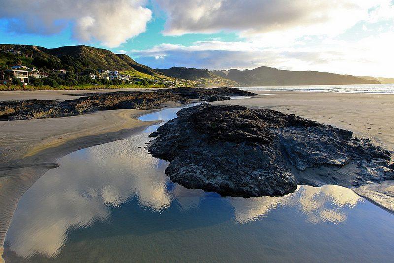 Ninety Mile Beach в Новой Зеландии