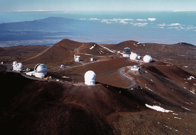 Мауна-Кеа – настоящий центр по изучению астрономических объектов