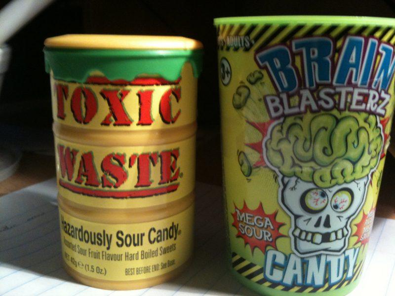 как есть Toxic Waste