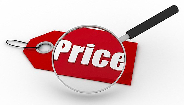 высокая цена