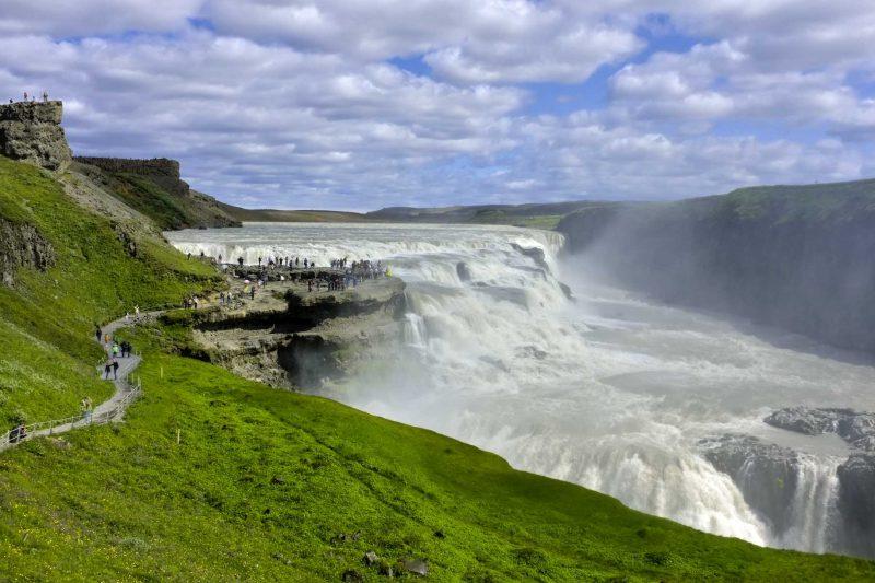 водопад Галлфосс
