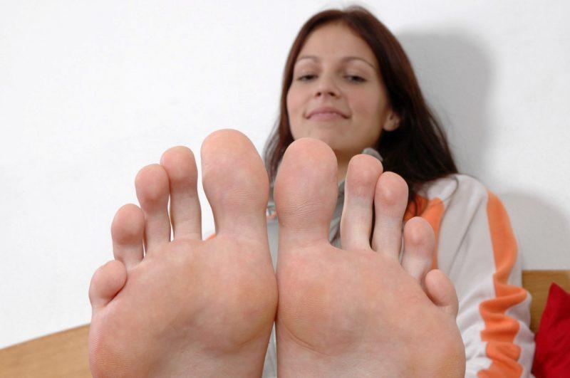 Размеры ног