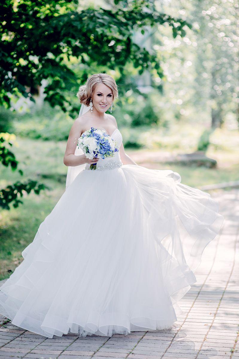 Свадебное платье девушки с Европы