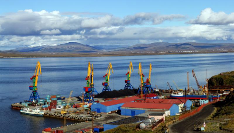 Анадырский порт
