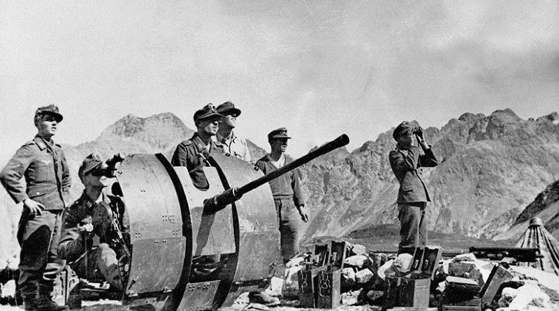 Немцы на Эльбрусе