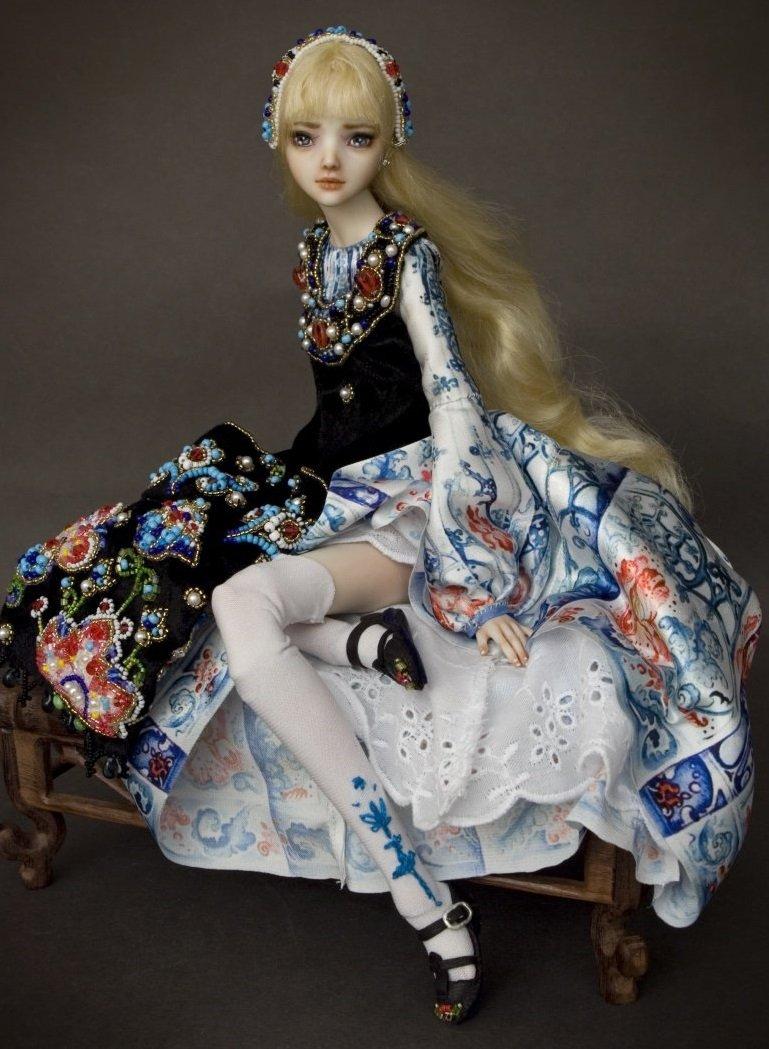 Кукла Марины Бычковой