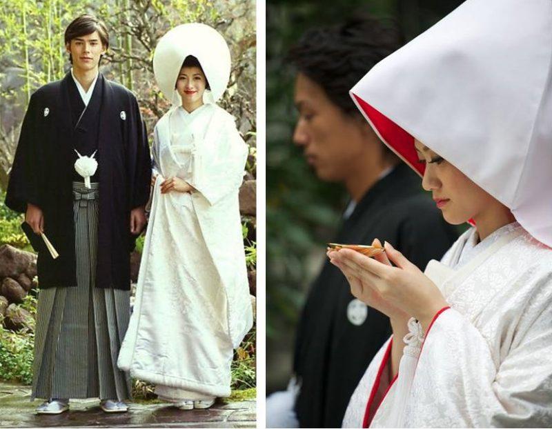 Свадебное платье японской невесты