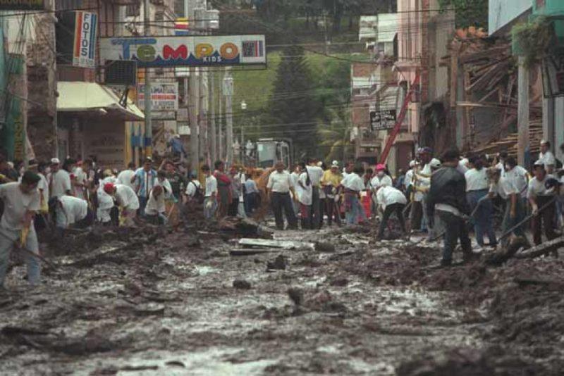 Последствия урагана Митч