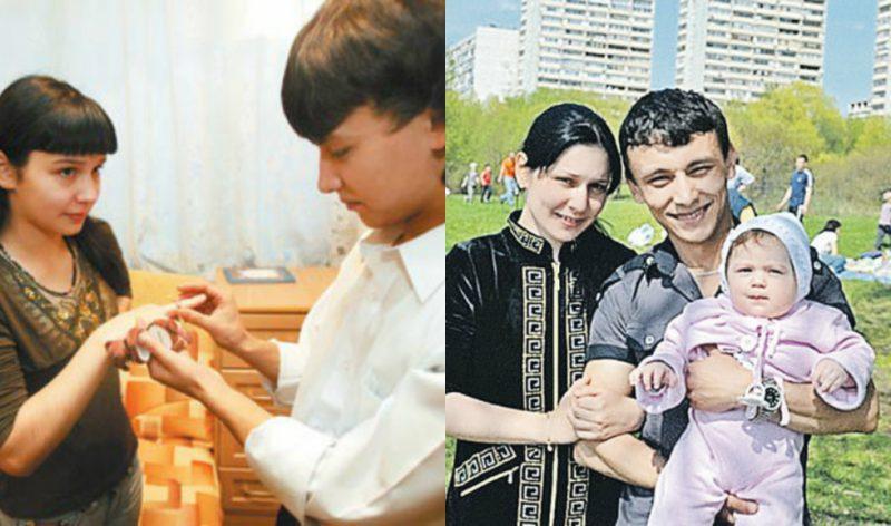 Валентина Исаева и Хабиб Патахонов