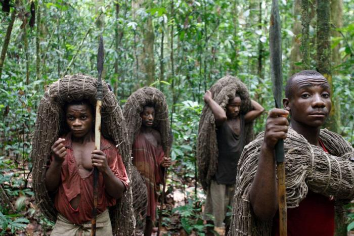 Пигмеи племени мбути
