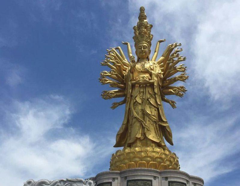 Богиня Гуаньинь в Чанше