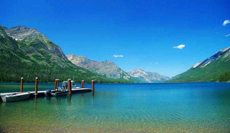 Озеро в Северной Америке