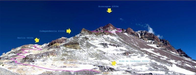 Аконкагуа, маршрут Normal Route