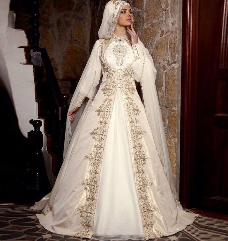 Традиционный свадебный наряд мусульманки