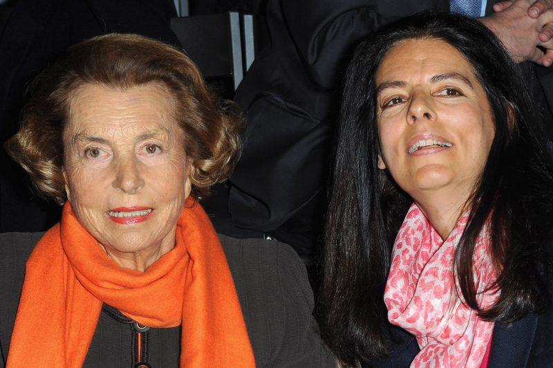 Лилиан Беттанкур и Франсуаза Бетанкур-Мейер