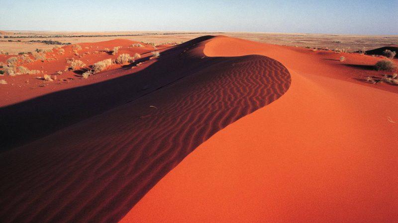Красная пустыня Симпсона