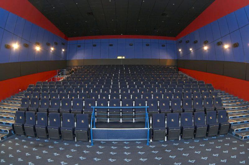 Один из залов кинотеатра «Каро»