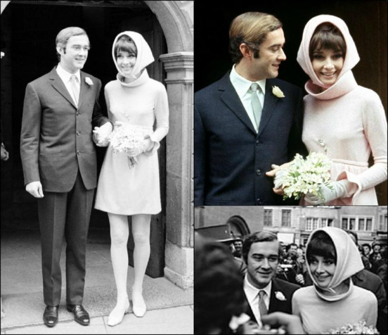 Платье Одри Хепберн на ее свадьбе