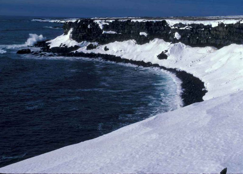 Рельеф Берингова моря