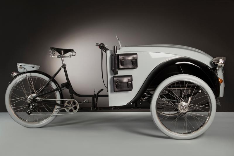 Электровелосипед Citroen C2 Paris