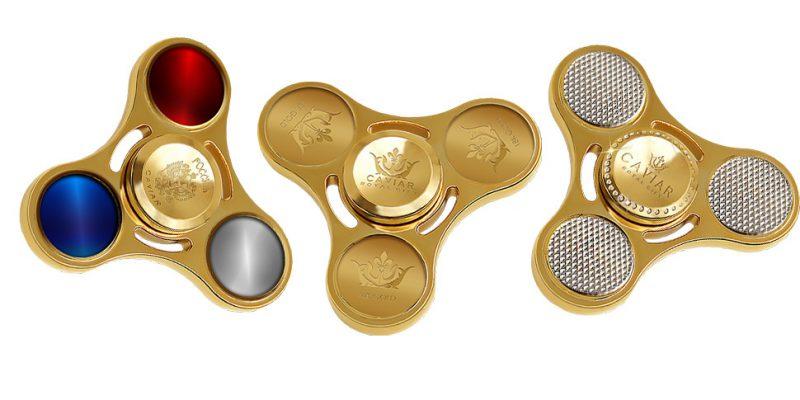 Спиннер Caviar из золота