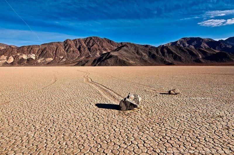 Долина Смерти. Движущиеся камни