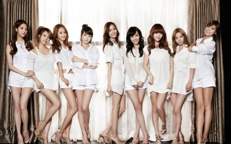 Красивые девушки Южной Кореи
