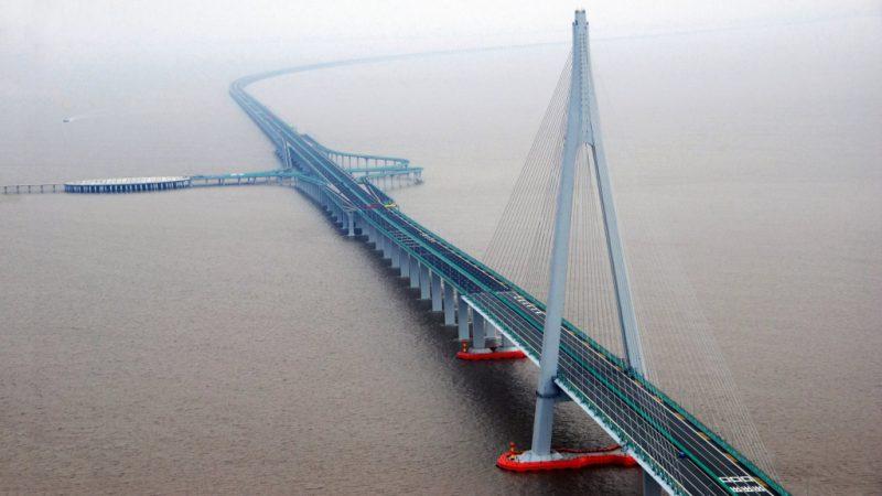 Остров у моста Ханчжоу