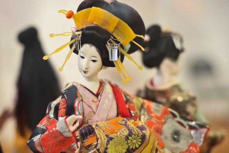 Куклы Ичимацу с Японии