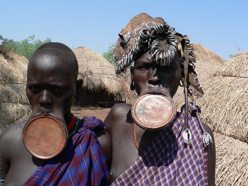 Представители племени банту