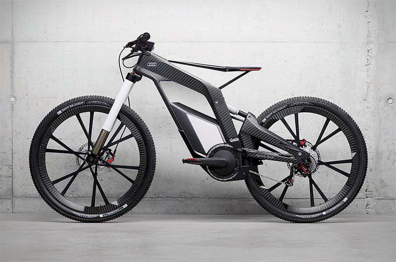 Электровелосипед от Аudi