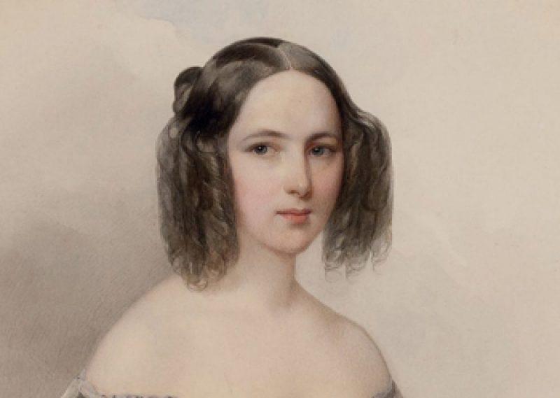 Молодая Наталья Гончарова