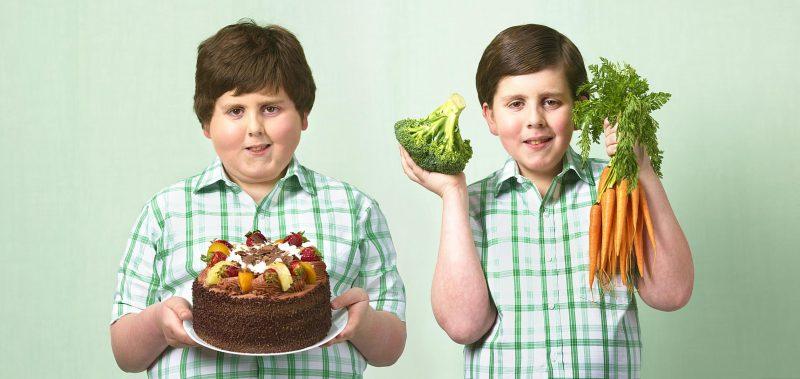 толстые дети