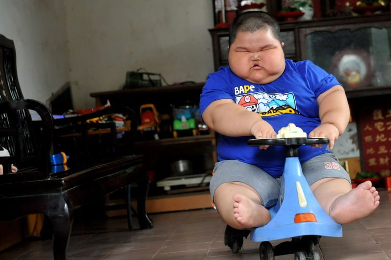 толстый ребенок Лу Хао