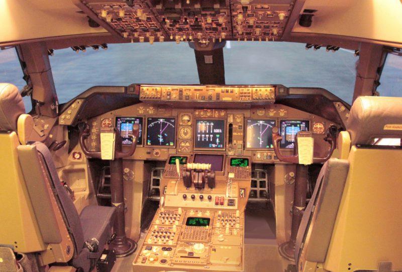 Boeing 747-400 Custom кабина