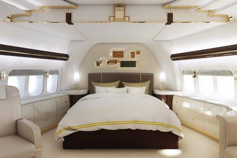 спальня Boeing 747– 8 VIP
