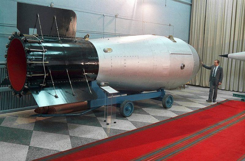 Модель Царь-бомбы