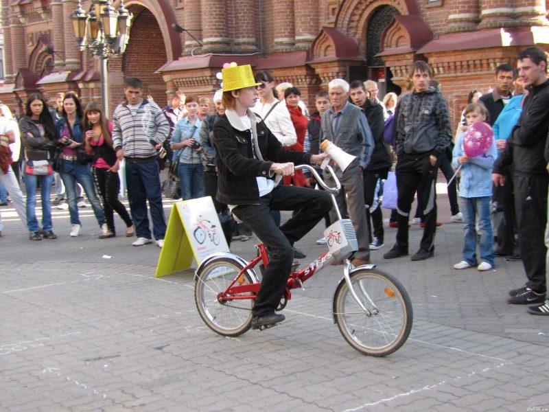 Пьяный велосипед