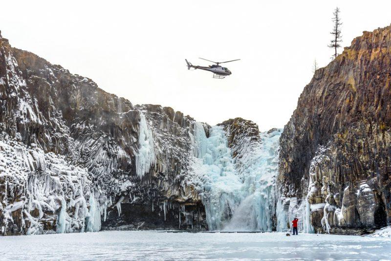 Тальниковый водопад Россия