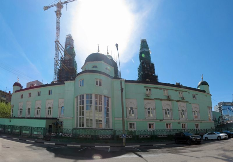 Московская соборная мечеть до реставрации