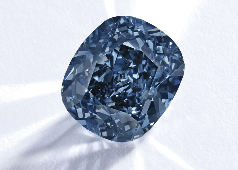 Самый дорогой голубой бриллиант