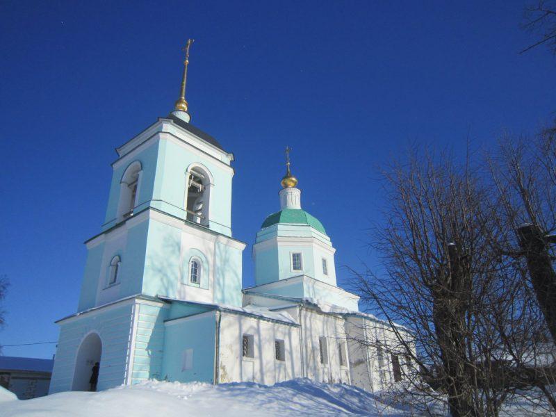 Кинель-Черкассы Вознесенская церковь
